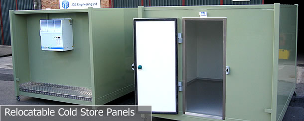 Relocatable Cold Store Panels, Insulated Panels, Rrefrigeration Panels